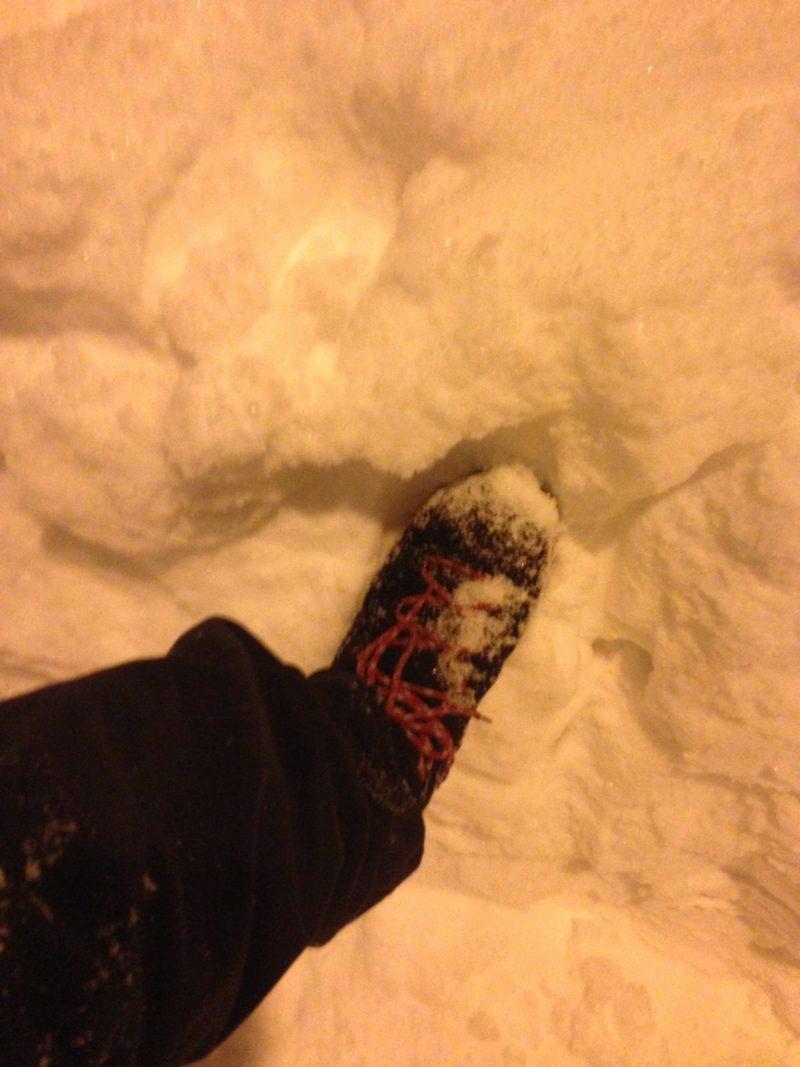 雪上のクイックミッド オムニテック