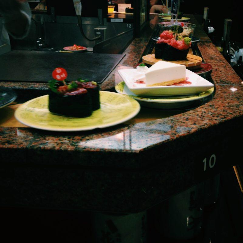 根室花まるの回転寿司