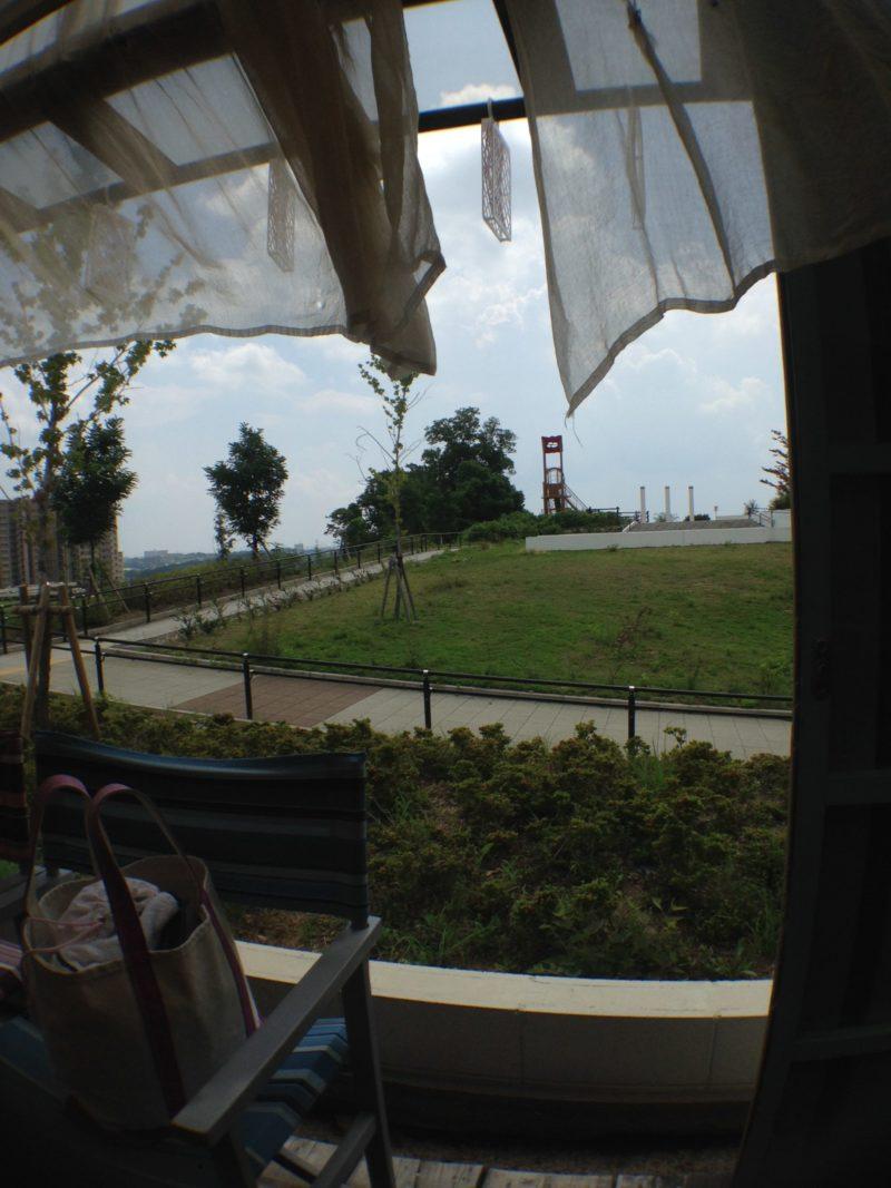 F cafeから景色