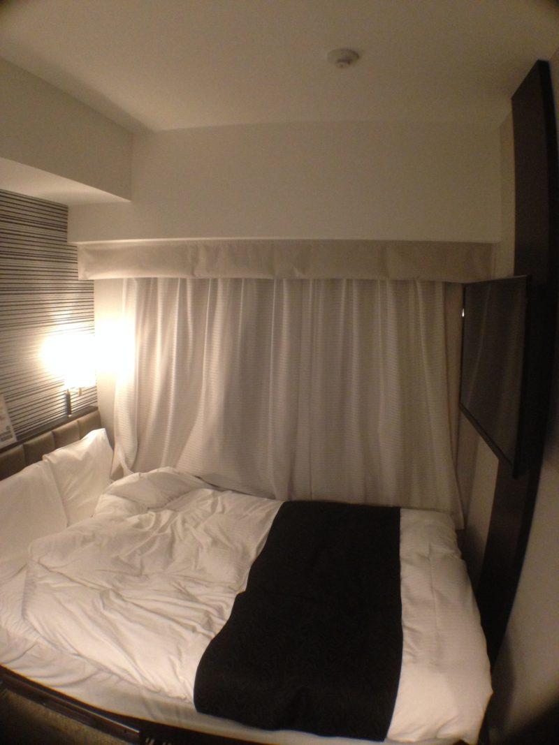 アパホテルの部屋