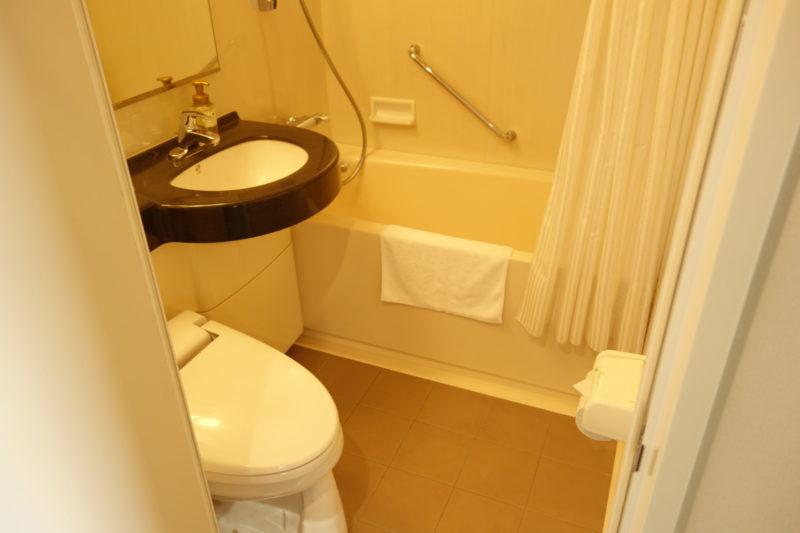 東急ステイ五反田の浴室