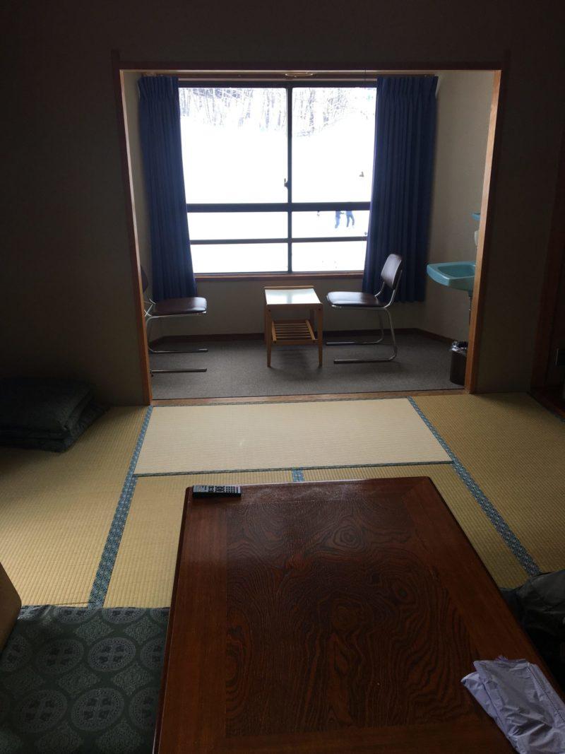 白樺湖ロイヤルホテルの部屋