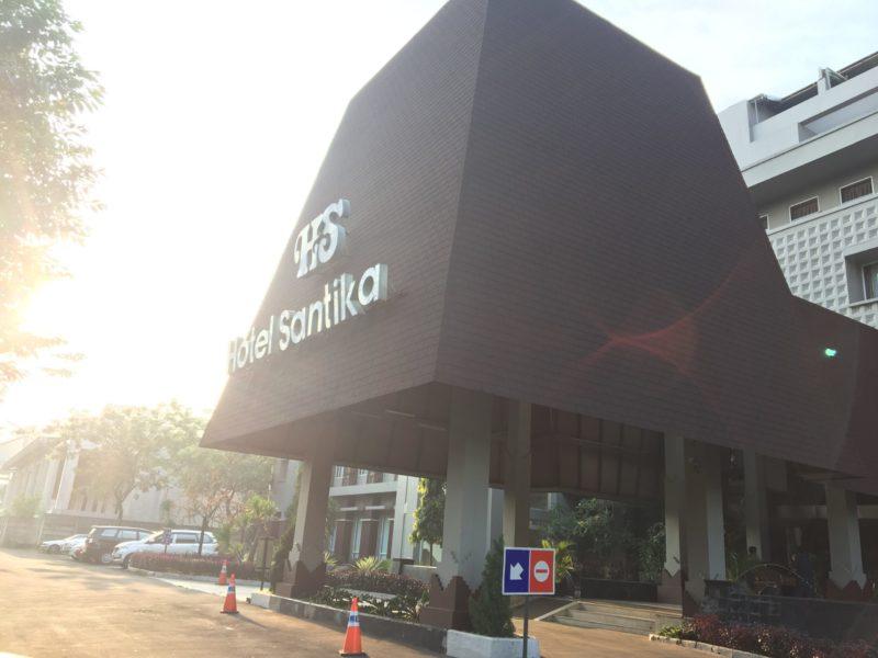 ホテル サンティカ タマン ミニ インドネシア インダ