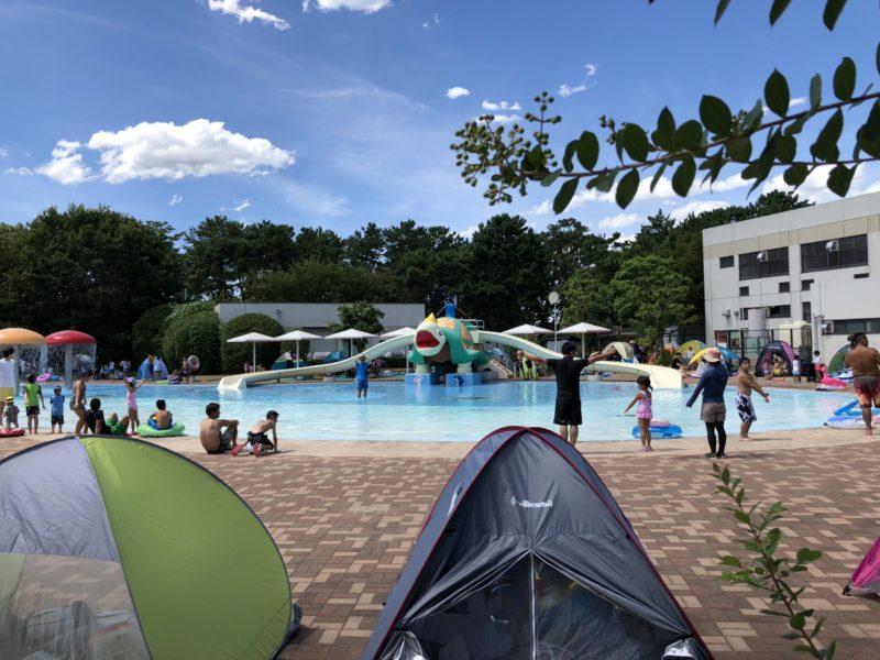 緑地公園にあるプール「ウォーターランド」
