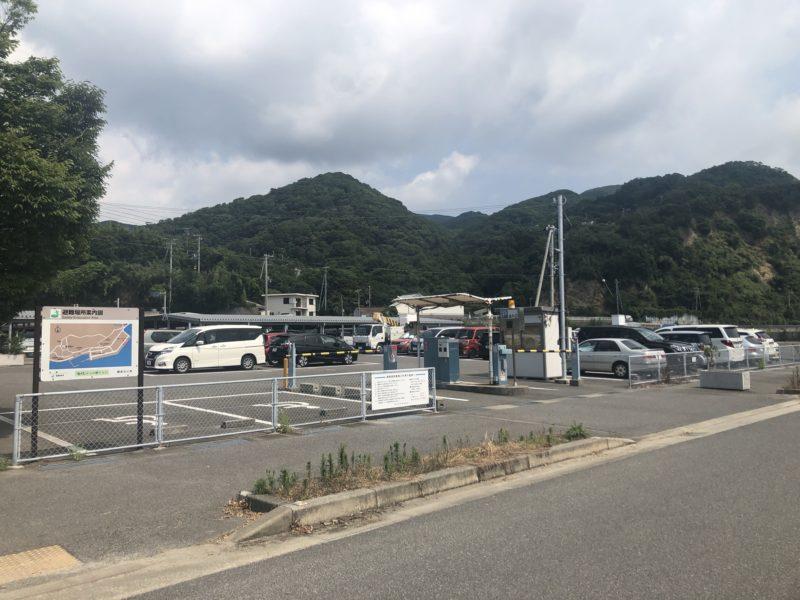 土生の駐車場
