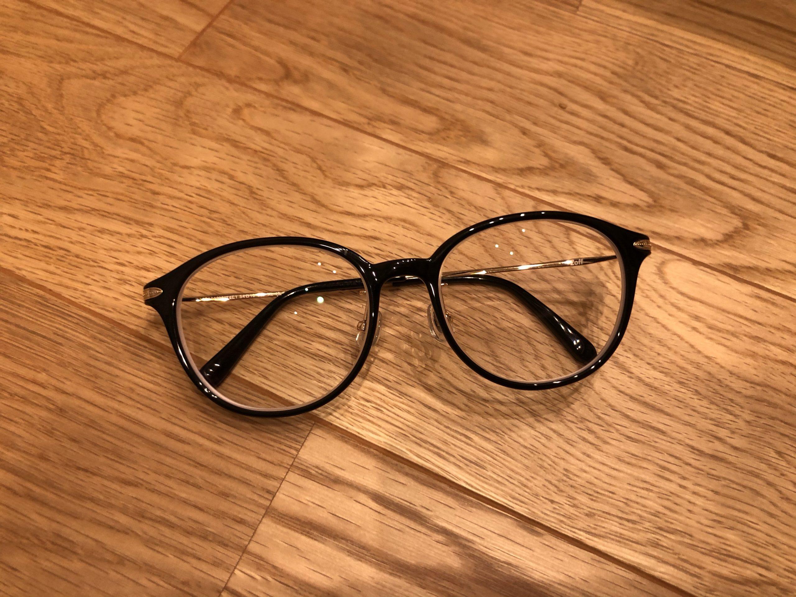 Zoffのメガネ