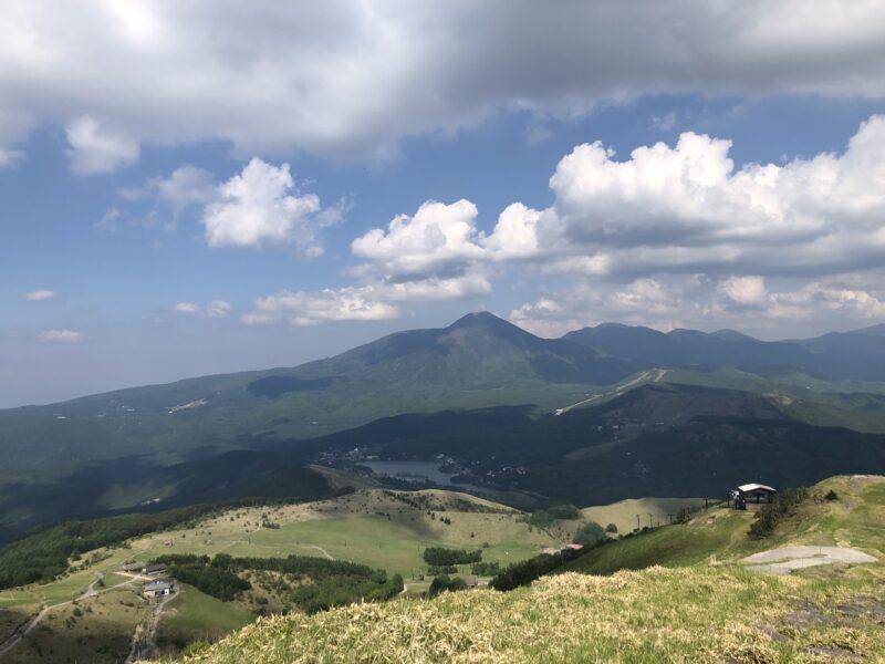 車山高原からの景色